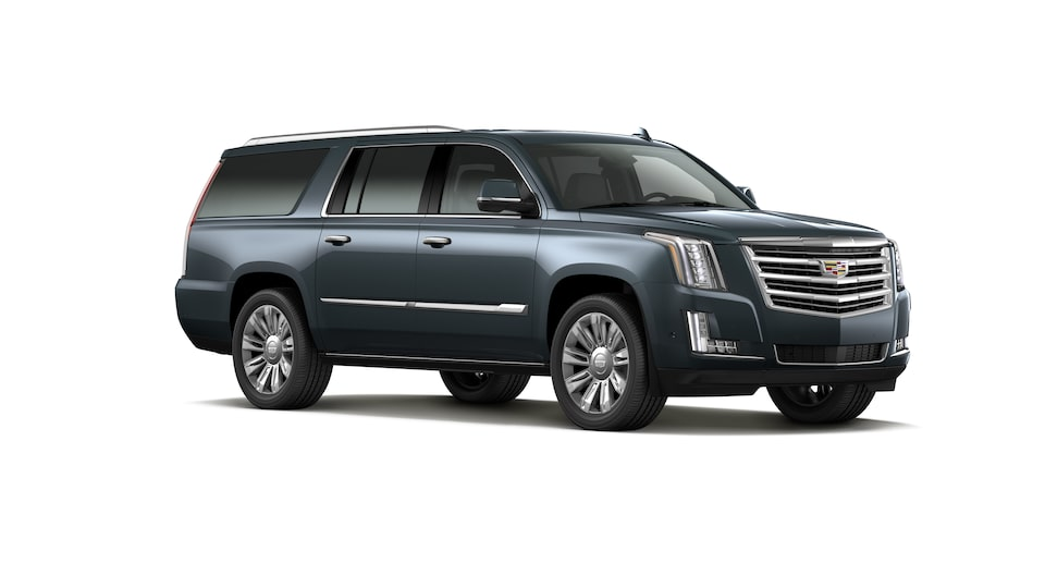 Cadillac Escalade 2020, SUV en color Shadow Metallic